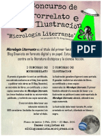 """I Concurso de Microrrelato e Ilustración """"Micrología Literrante"""""""