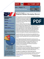 Stimulus Update Newsletter, October 2009