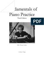 Fundementals of Piano Practice