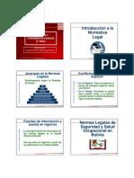 Normativa y Fundamentos Legales - Ohsas 18001 P_3.1