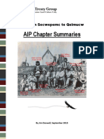 2013 09 AIP Chapter Summaries-Reviserd-June