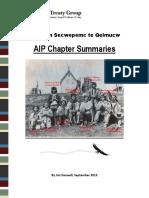 2013 09 AIP Chapter Summaries-Reviserd-June