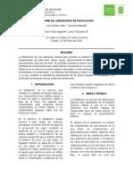 Informe de Laboratorio de Destilación