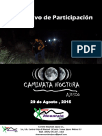 Instructivo Caminata Nocturna
