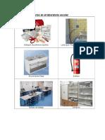 Elementos necesarios en el laboratorio escolar y normas de seguridad.