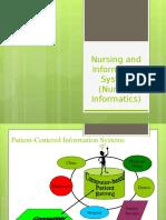 Nursing Informatics in the Health Care Professions