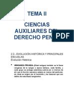 CIENCIAS AUXILIARES DEL DERECHO PENAL