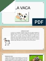 Nutricion La Vaca