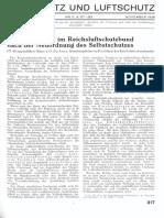 Gasschutz Und Luftschutz 1938 Nr.11 November