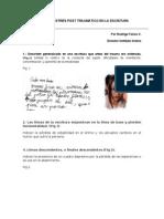 LOS 10 SIGNOS DE ESTRÉS POST TRAUMÁTICO EN LA ESCRITURA