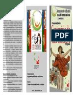 Panfleto - Comemorações do Centenário da República na Cordinha