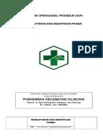 7.1.1 Ep 1& Ep 3 Sop Pendaftaran No. Sop.001-Pkc-ukp-loket