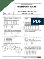 Try Out Un Kimia 2015-2016 Kode Tu 1601