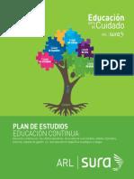 Cartilla Eduación Para El Cuidado - Educación Continua - Estrategias de Intervención 2015 Regional Occidente