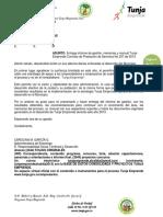 Informe Memorias Manual Tunja Emprende 2013