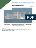 Hentikan Rancangan Tenaga Nuklear - Aliran