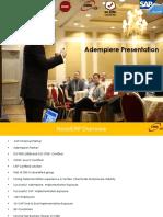 Adempiere Presentation -Novel