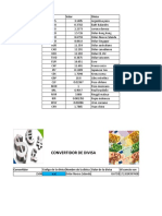 Practica No.2 de Exel-Convertidor de Divisas- Jose Fco. Merancia Arvizu
