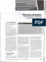 Movilidad y Refrigerio en El Sector Publico-pago Diario o Mensual