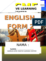Cover English Form 2