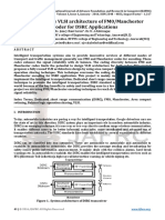 Reconfigurable VLSI architecture of FM0/Manchester Encoder for DSRC Applications