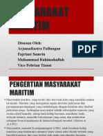 MASYARAKAT MARITIM