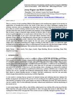 A Survey Paper on Web Crawler