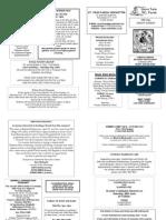 St Felix RC Parish newsletter - Trinity Sunday 2008