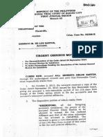 Urgent Omnibus Motion Oct 21 2013