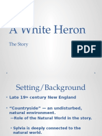 A White Heron — the Hero's Journey