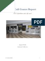 Call center report