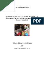 Raportul Joc Invatare La Prescolari