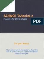 science tutorial 2