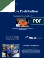 Promotional Sampling Case Study