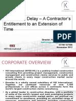Concurrent Delay