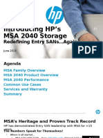 MSA 2040 Customer Presentation