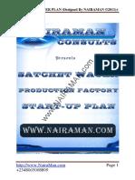 Sachet Pure Water Business Plan