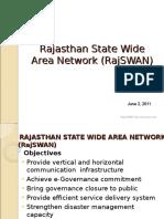 Rajasthan State Wide Area Network Rajswan