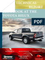 Toyota Hilux JulyAug 20131