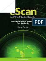 eScan Mobile Security With Android