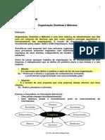 APOSTILA - Organização, Sistemas e Métodos