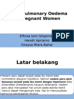 Jurnal Anestesi Acute Pulmonary oedema in pregnant women
