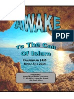 Awake 2014 Ramadaan 1435 Jun Jul 2014 by the majlis