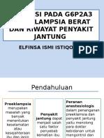 Presentation Case Anasthesia
