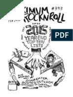 Maximumrocknroll February 2016