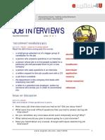 Intermediate INTERVIEW Job Work TN