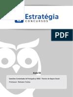 Português p INSS - Questões Comentadas - Técnico de Seguro Social - A003