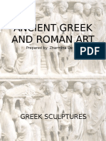 Ancient Greek and Roman Art powerpoint humanities