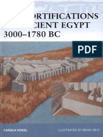 Vogel the Fortifications of Ancient Egypt