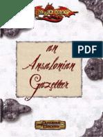 An Ansalonian Gazetteer